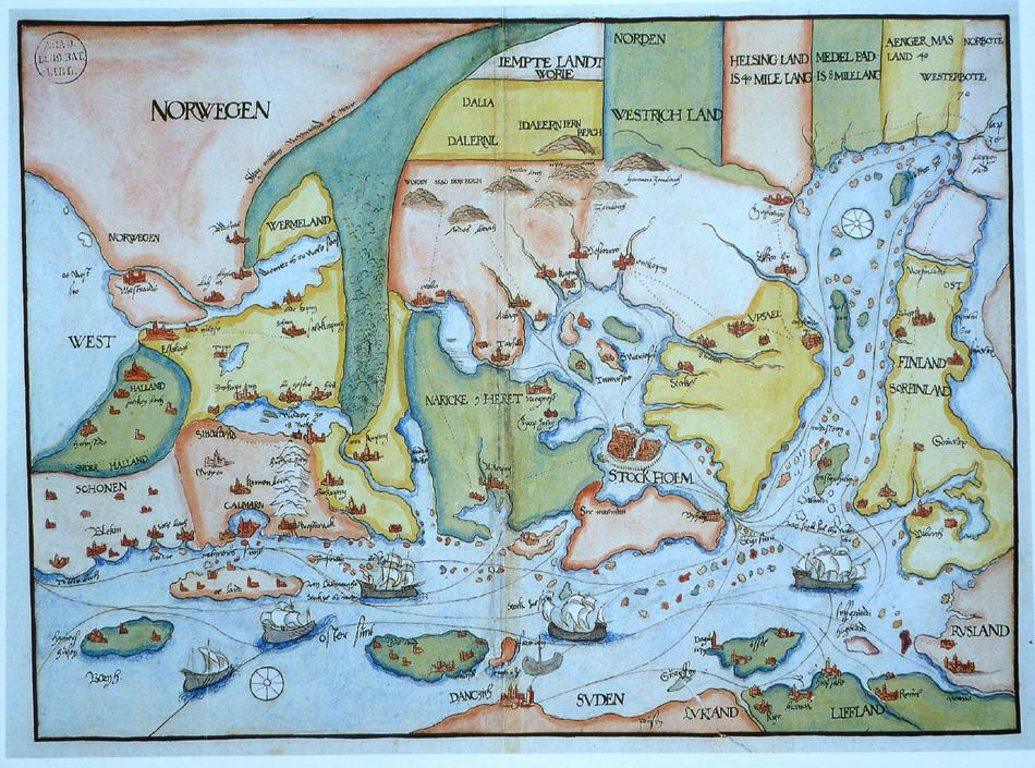 Gammal Karta Italien.Kommentarer Till Gamla Kartor